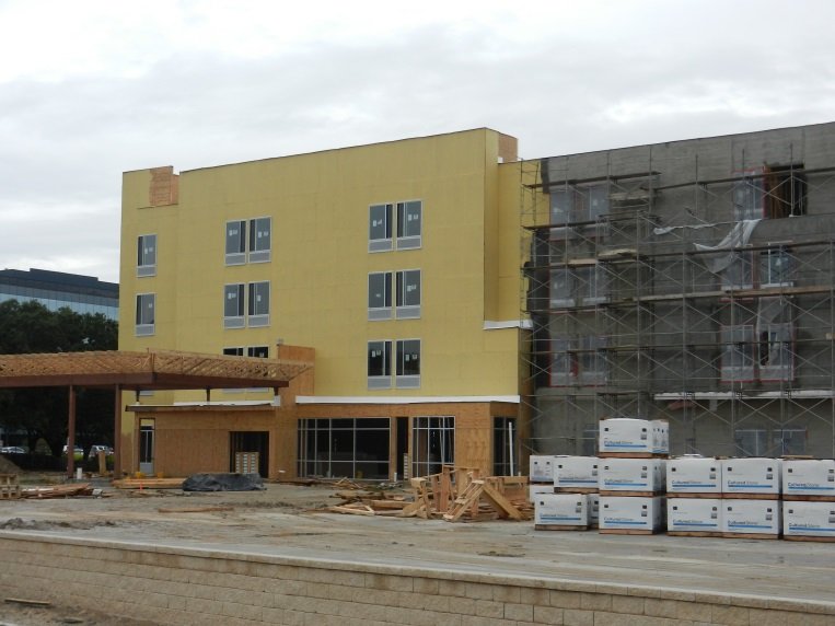 Robust Construction Continues In Ten Oaks And Park 10